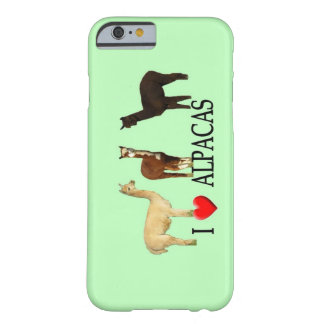 I Heart Alpacas Barely There iPhone 6 Case