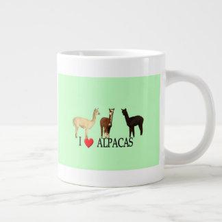 """I """"Heart"""" Alpacas Large Coffee Mug"""