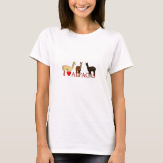 "I ""Heart"" Alpacas T-Shirt"