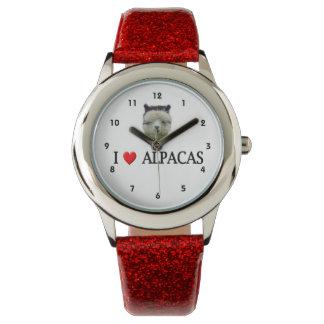 """I """"Heart"""" Alpacas Wristwatch"""