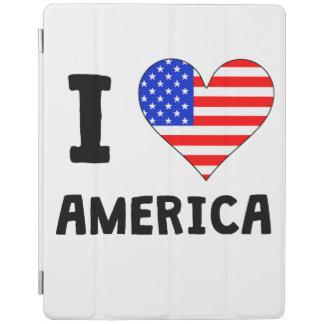 I Heart America iPad Cover