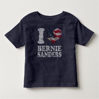 I Heart American Flag Bernie Sanders Toddler T-shirt