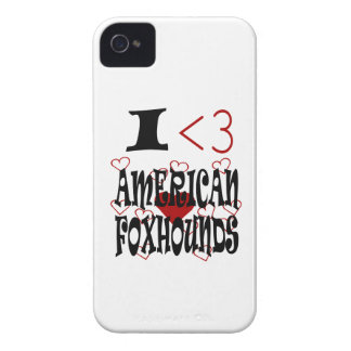 I Heart American Foxhounds iPhone 4 Cover