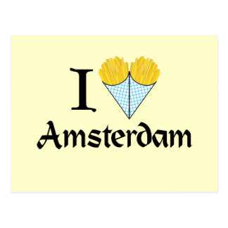 I Heart Amsterdam Postcard
