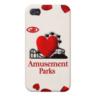 I Heart Amusement Parks i /  Case For iPhone 4