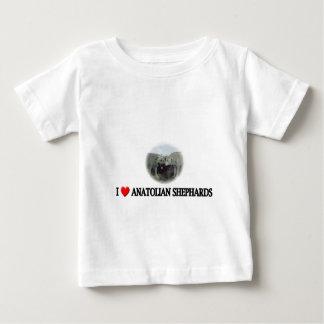 I heart Anatolian shepherds Baby T-Shirt