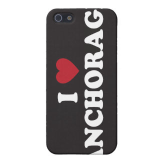 I Heart Anchorage Alaska Cases For iPhone 5
