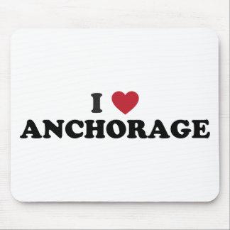 I Heart Anchorage Alaska Mouse Pad