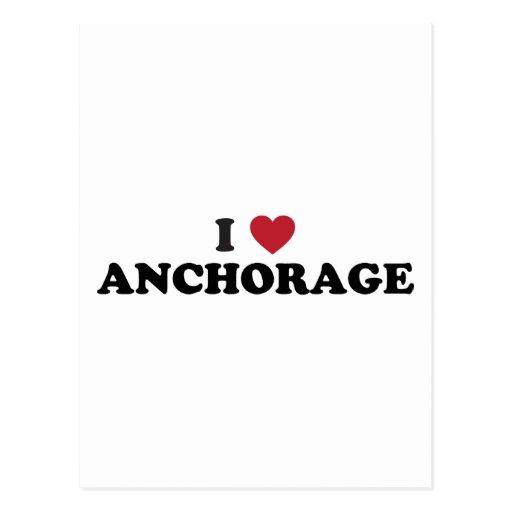 I Heart Anchorage Alaska Post Cards