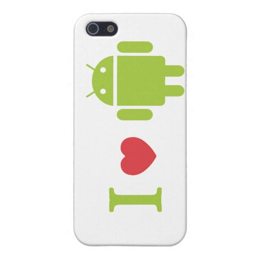 I heart Android Case For iPhone 5