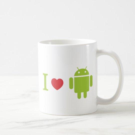 I heart Android Coffee Mug