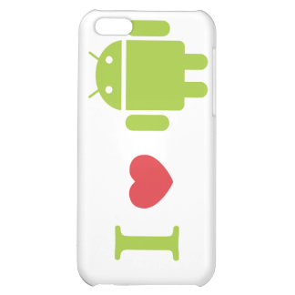I heart Android iPhone 5C Case