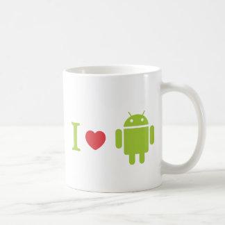 I heart Android Classic White Coffee Mug