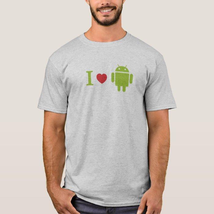 I heart Android T-Shirt