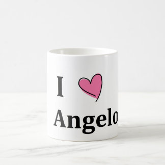 I Heart Angelo Mug