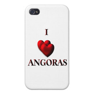 I Heart Angoras Cover For iPhone 4