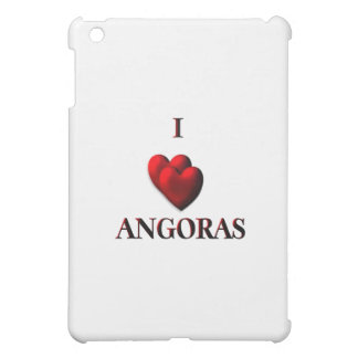 I Heart Angoras iPad Mini Cover