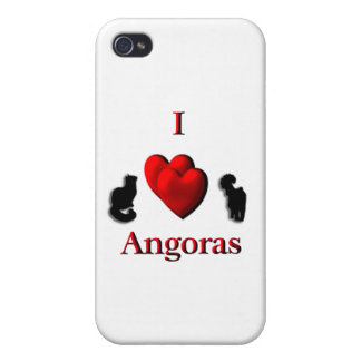 I Heart Angoras iPhone 4/4S Case