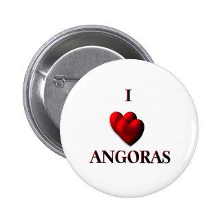 I Heart Angoras Pinback Button
