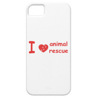 I [heart} Animal Rescue iPhone 5 case