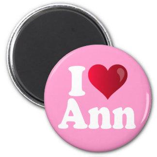 I Heart Ann Romney 2 Inch Round Magnet