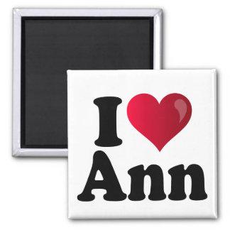 I Heart Ann Romney 2 Inch Square Magnet