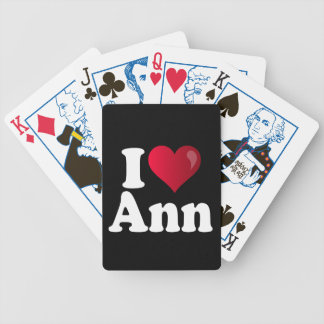 I Heart Ann Romney Bicycle Playing Cards