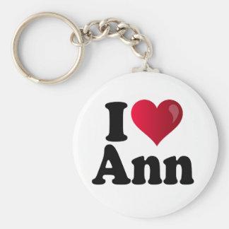 I Heart Ann Romney Keychain