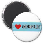 I heart Anthropology 2 Inch Round Magnet