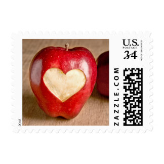 I Heart Apples Postage