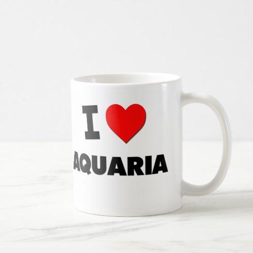 I Heart Aquaria Classic White Coffee Mug