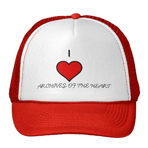 I HEART ARCHIVES OF THE HEART HAT
