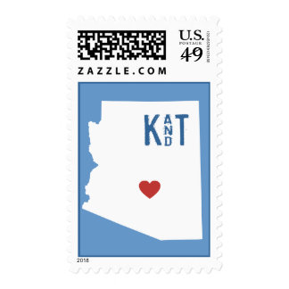 I Heart Arizona - Customizable City Stamp