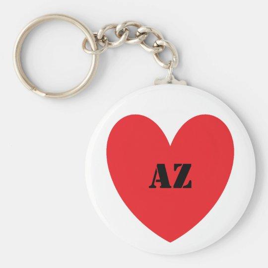 I Heart Arizona Keychain