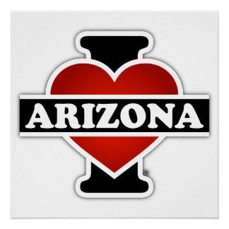 I Heart Arizona Poster