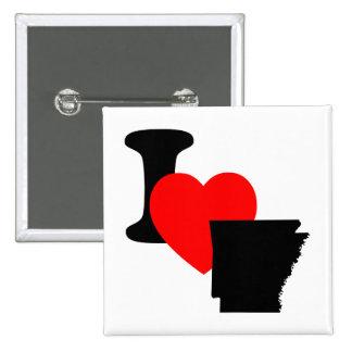 I Heart Arkansas Pin