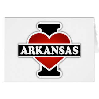 I Heart Arkansas Card