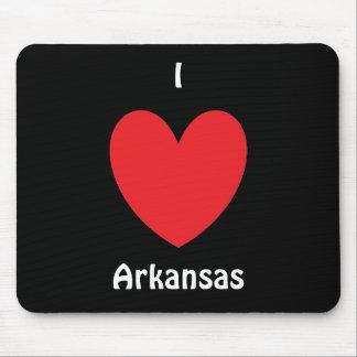 I Heart Arkansas Mousepad