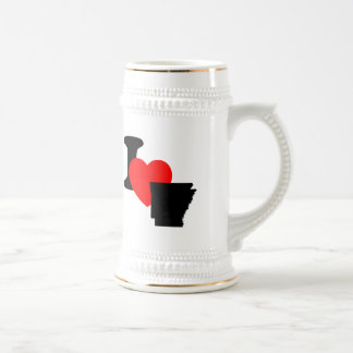 I Heart Arkansas Coffee Mugs