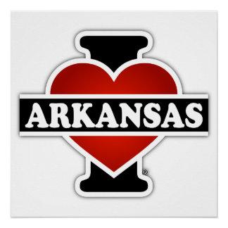 I Heart Arkansas Poster