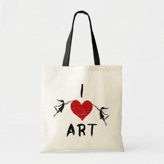 I Heart Art Bags