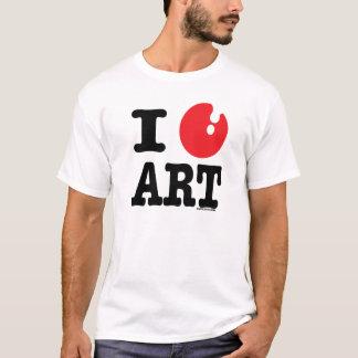 I (heart) art T-Shirt