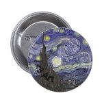 I Heart Art - Van Gogh Pinback Button