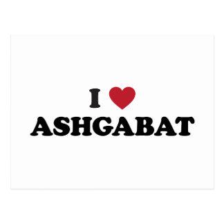 I Heart Ashgabat Turkmenistan Postcard