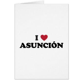 I Heart Asuncion Paraguay Card