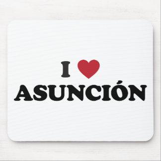 I Heart Asuncion Paraguay Mouse Pad