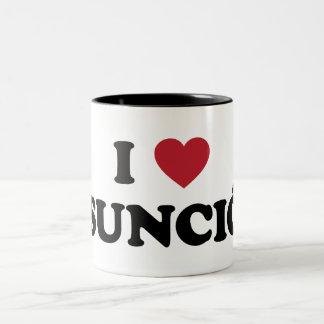 I Heart Asuncion Paraguay Two-Tone Coffee Mug