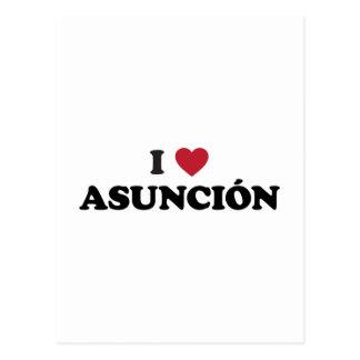 I Heart Asuncion Paraguay Postcard