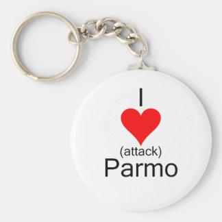 I Heart Attack Parmo Keychain