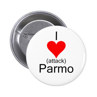 I Heart Attack Parmo Pinback Button